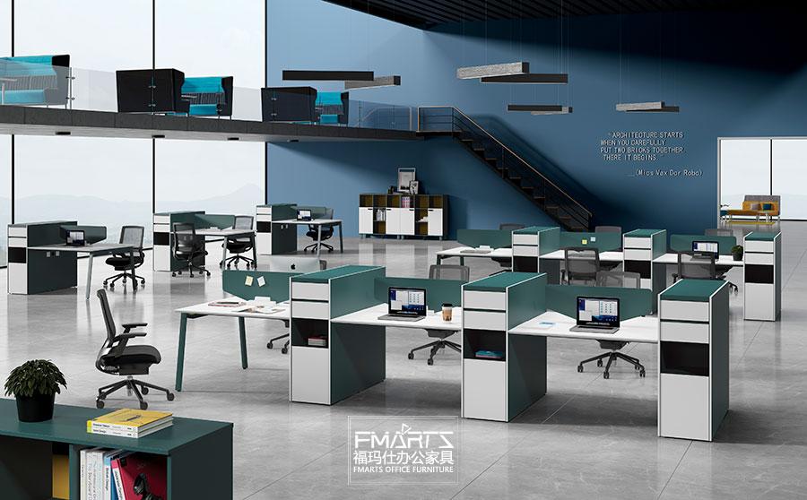 维纳系列板式员工办公桌
