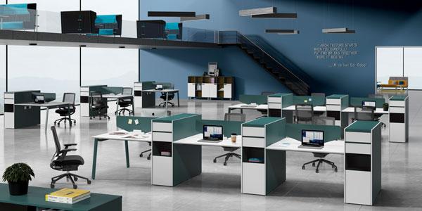 学会用色,办公家具才能更好地和办公室融为一体