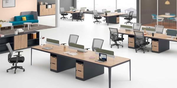 现代化屏风工作位将会替代传统化办公桌?
