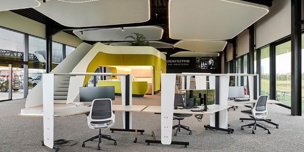优秀办公空间案例赏析:比利时Goddeeris公司总部办公楼设计
