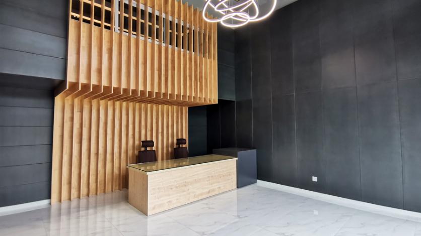 中山办公家具定制项目 | 遇见对的设计,房地产办公空间也能这么玩!