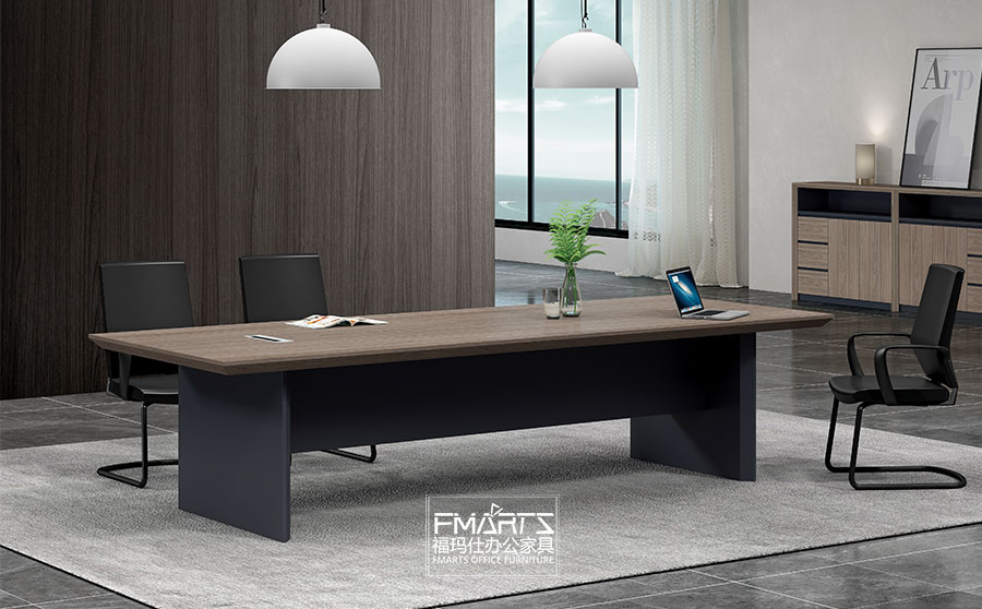 简约板式会议桌