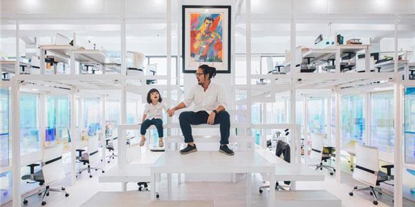 国外办公室家具运用案例欣赏:马来西亚Mindvalley