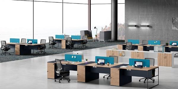 办公的艺术—职员桌组合系列