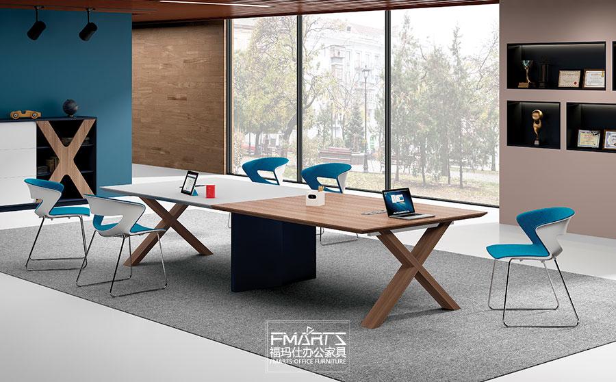 现代板式会议桌