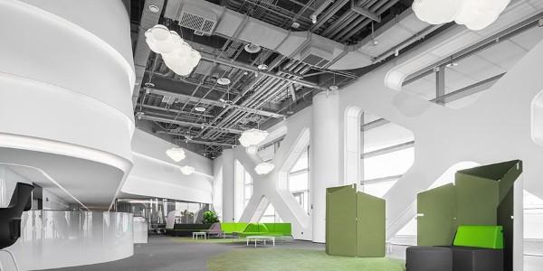 """优秀办公空间赏析:""""微尼奥""""总部办公空间"""
