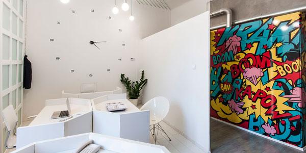 国外办公家具运用案例欣赏:Dekoratio品牌设计工作室