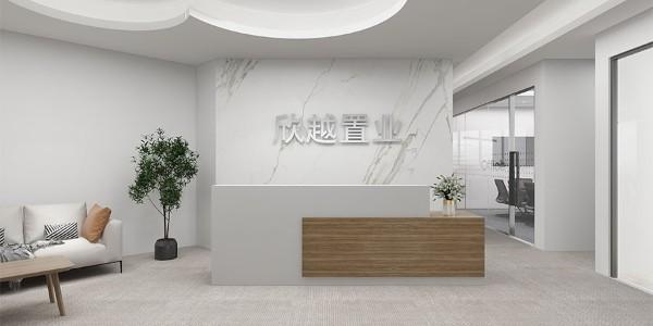 办公区前台办公家具构思设计很重要