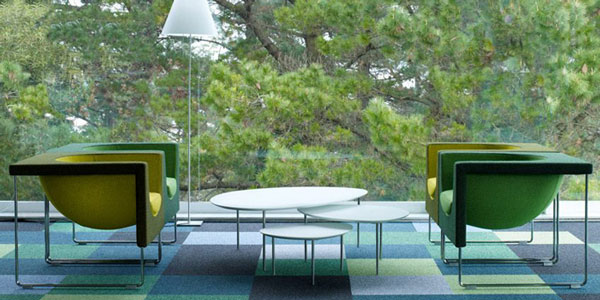 国外优秀办公家具产品分享:西班牙 NUBE扶手椅欣赏