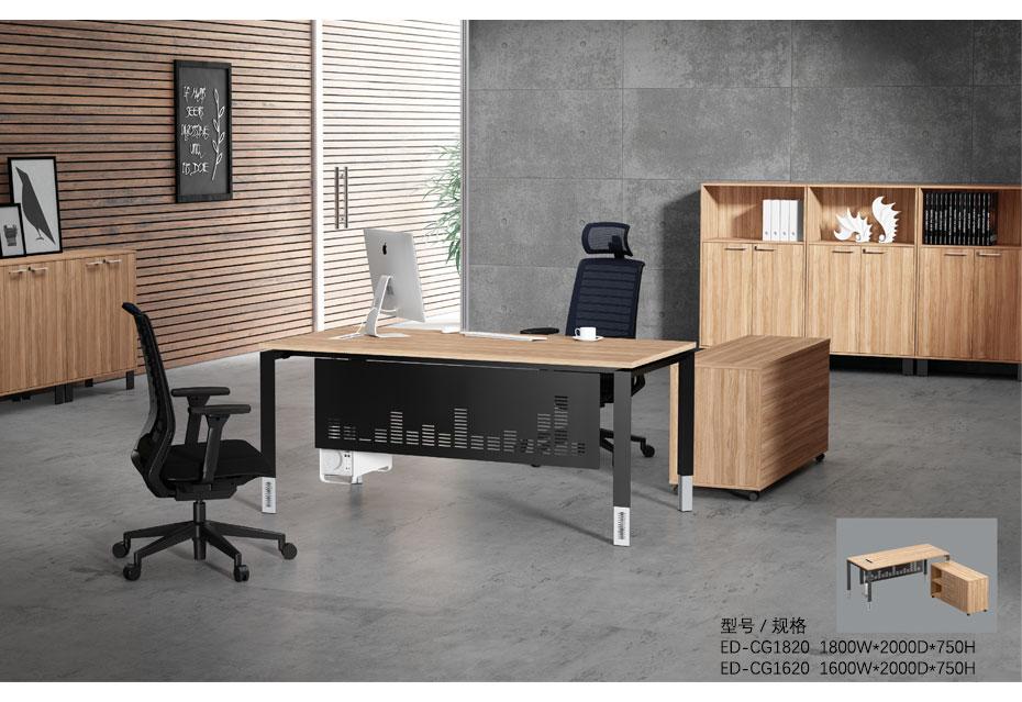 彩戈板式办公桌_04