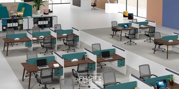 办公室办公家具的搭配