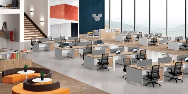 当代公司办公室家具风格和工作理念