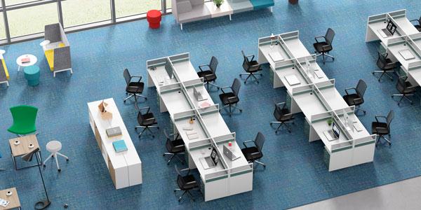 屏风办公桌,能让你的工作事半功倍