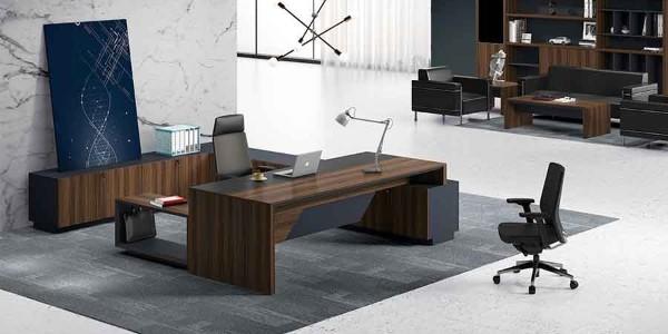 钢木结构办公家具