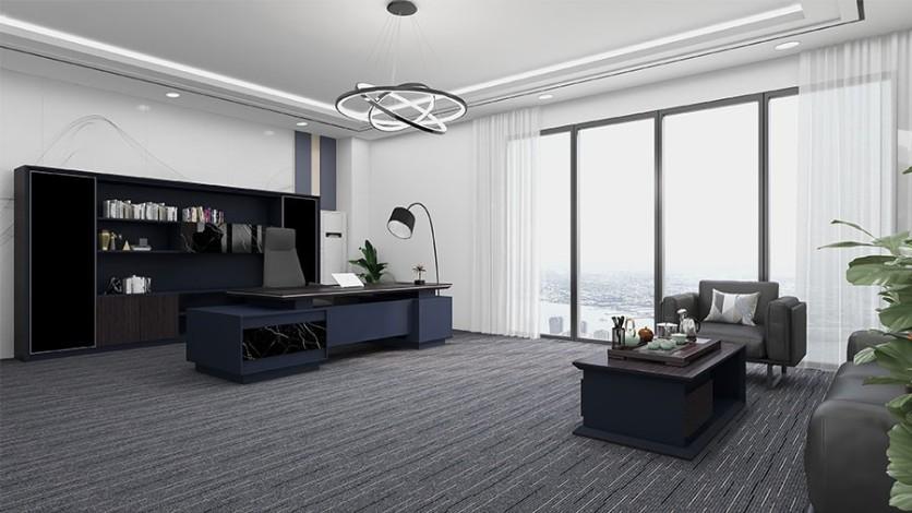 总经理办公室装修设计怎样更为的大方得体
