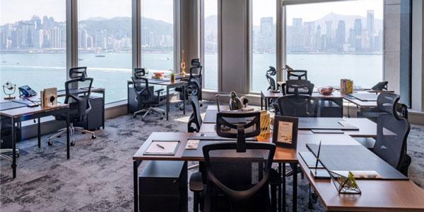 办公家具运用案例欣赏:Interspace Limited香港办公空间