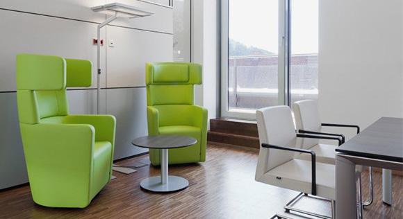办公休闲区沙发