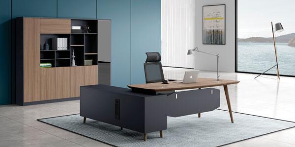 福玛仕办公家具|简悦系列经理台文件柜组合展示