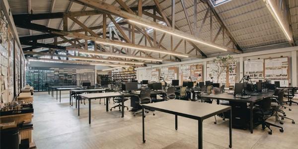 优秀案例赏析:墨西哥城Esrawe工作室空间设计