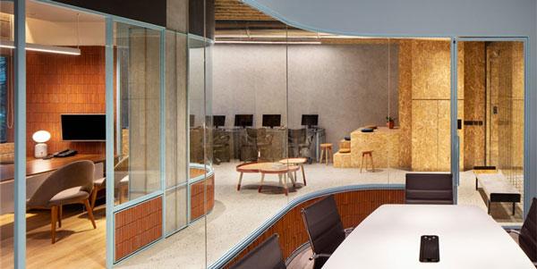 国外办公室家具运用案例欣赏:印度Nureca Inc办公室