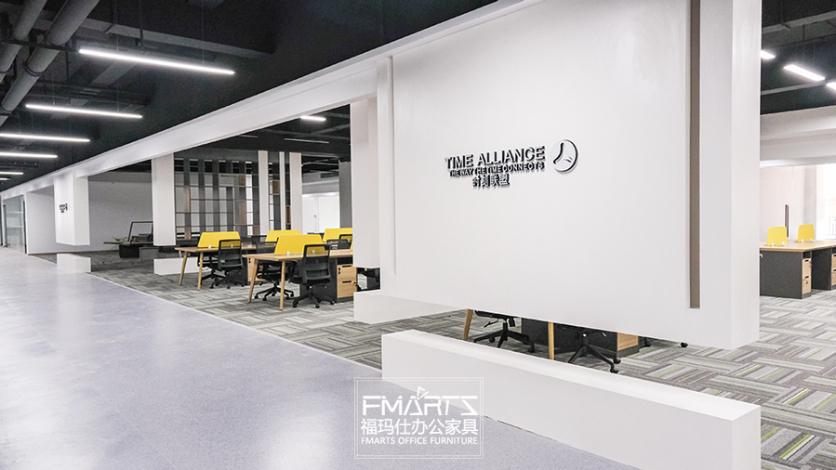 中山办公家具定制项目|空间设计+家具配套,福玛仕都能做!