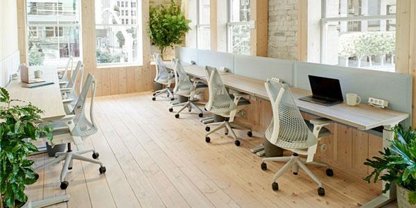 国外办公室家具运用案例欣赏:旧金山Canopy共享办公室