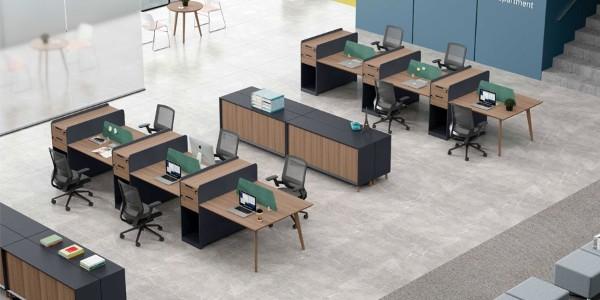 中山办公家具圆弧形突显科学人性化设计