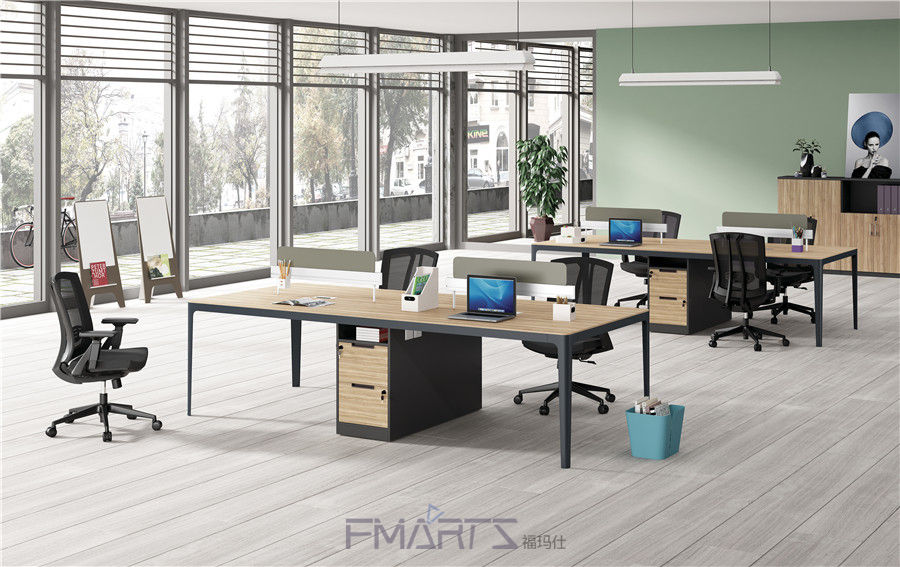 四人位职员办公桌